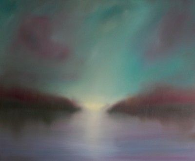 Tranquil Waters by Jonathan Speed (Oil on Linen, 120x100cm) £2,800  Lacey Contemporary Gallery Notting Hill London  Landscape Painting