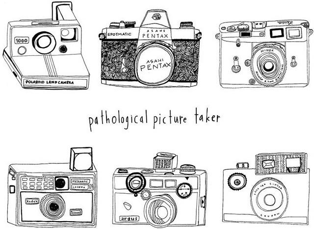 Pathological picture taker, thats me. : Photo Camera, Photos Takers, Camera Sketch, Camera Clique, Camera Illustrations, Photography, Camera Porn, Digital Camera, Cameras