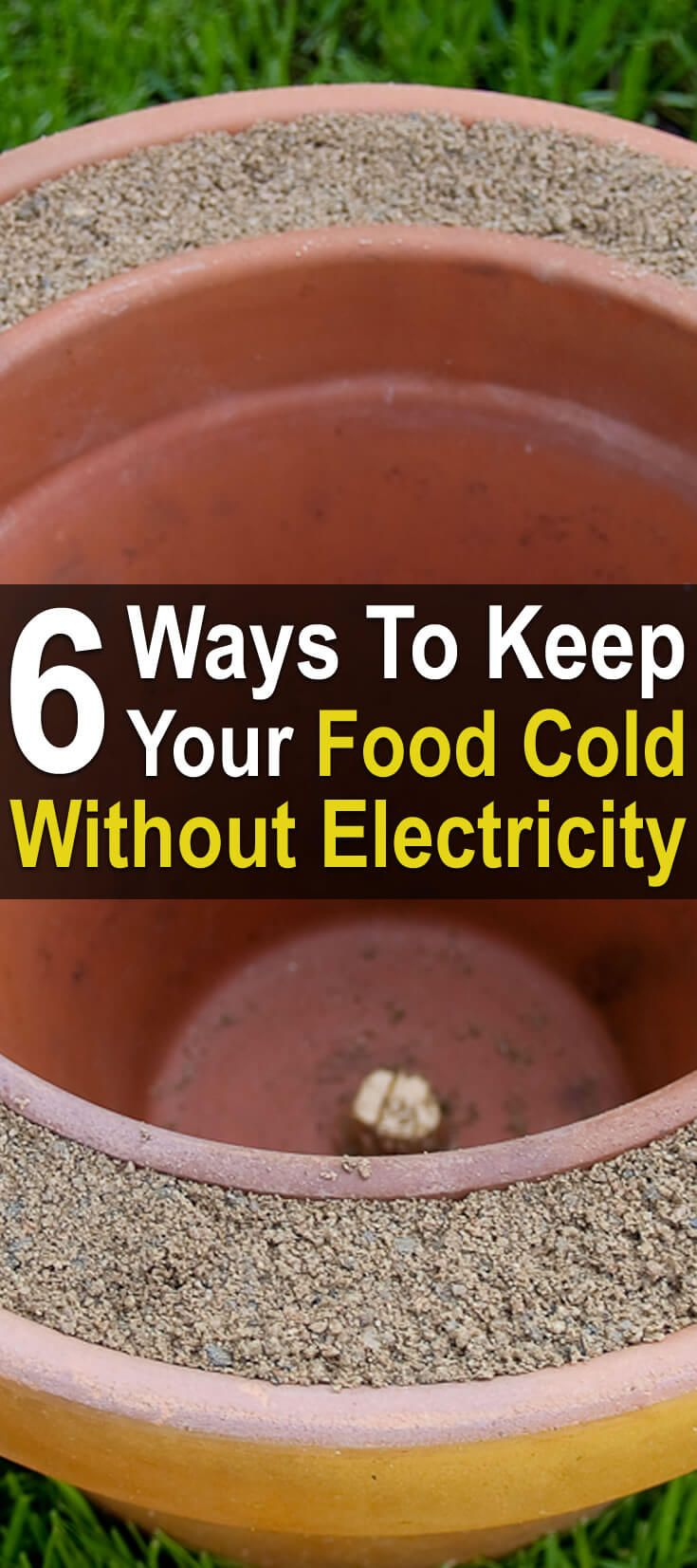 What if a disaster knocks out the power to your home? What will happen to all that cold food in your refrigerator? Here are six ways to keep it cold.