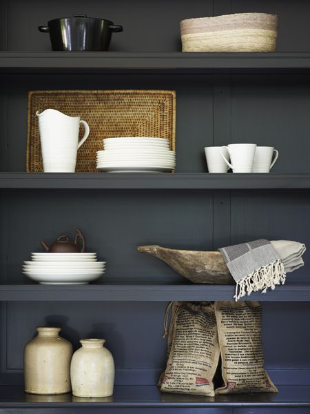 Kitchen Shelving Unit Display |photo Michael Graydon | House & Home