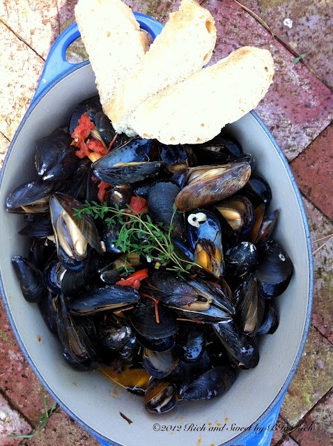 MUSSELS!!!!!!!!!! food