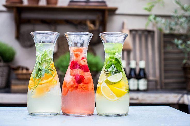 Heerlijke zomerse dranken!