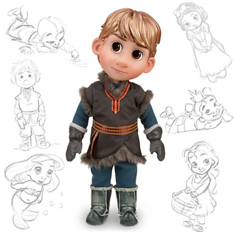 It's finally here: The Disney Animators' Collection - Kristoff from Frozen. Now on sale at Amazon! (Too cute!)