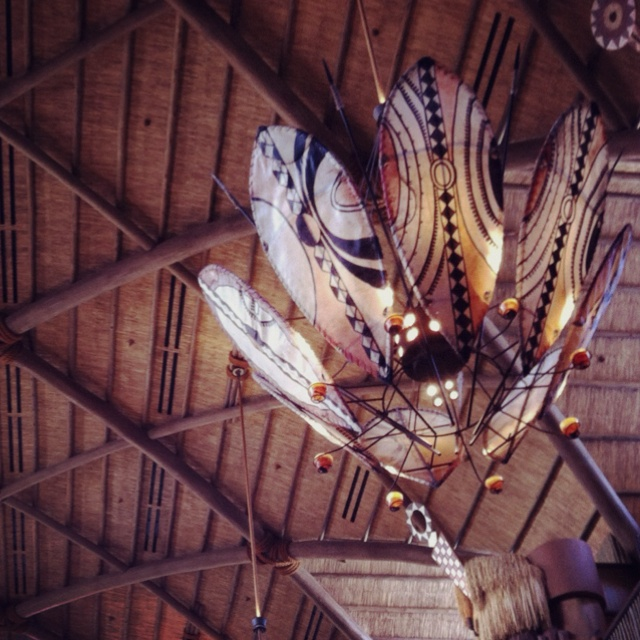 Chandelier at Animal Kingdom Lodge #ethnic decor