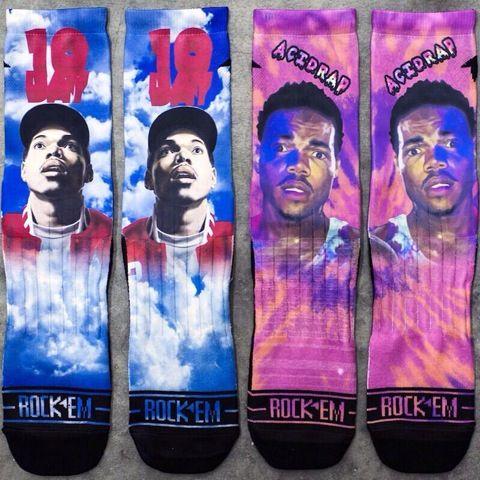 Chance The Rapper Socks
