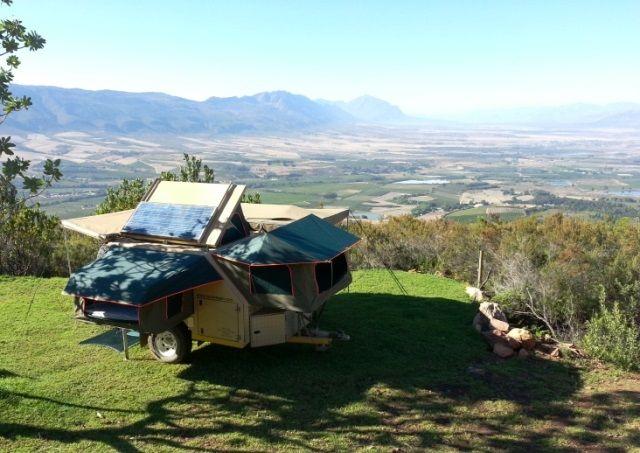 Secret Falls Campsite in Tulbagh, Western Cape.