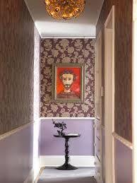 resultado de imagem para papel de parede para corredor de apartamento pequeno