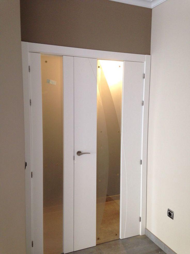 Espectacular puerta doble vidriera modelo 979 vt donde el - Vidrieras para puertas ...