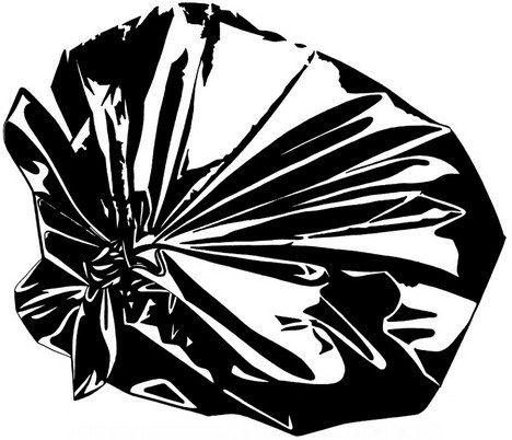 Garbagge bag Heavy Duty 120Litre Black, 25 per pack