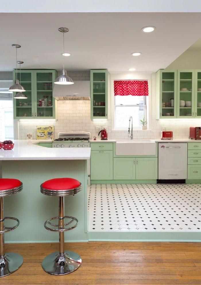 Barra Cocina Idea Para Cocinas Modernas Cocina En Color Verde
