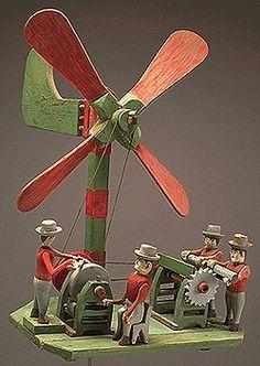 17 Best images about whirligigs on Pinterest | Folk art ...