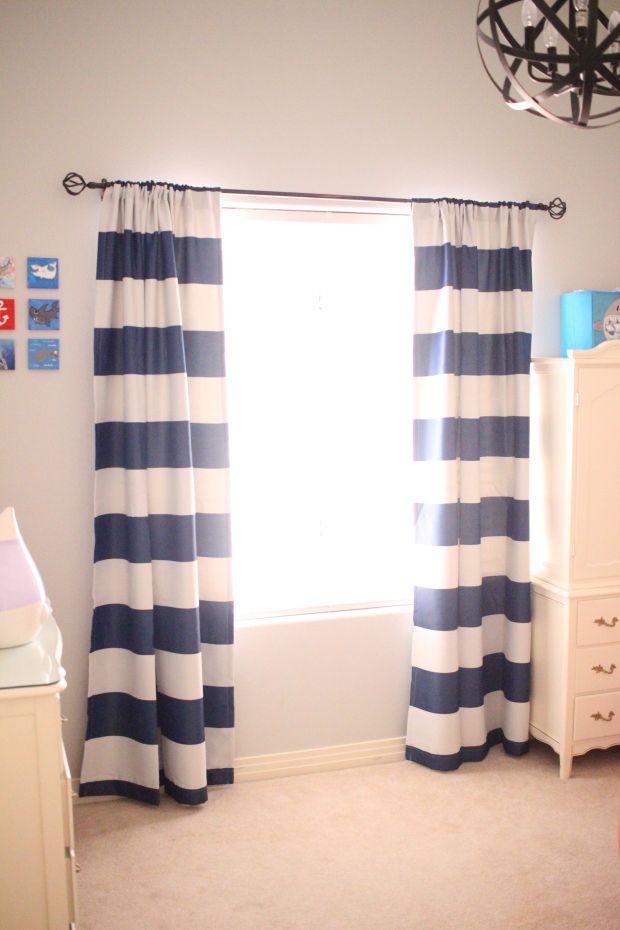 Nursery Curtains  Redlocks and Shamrocks