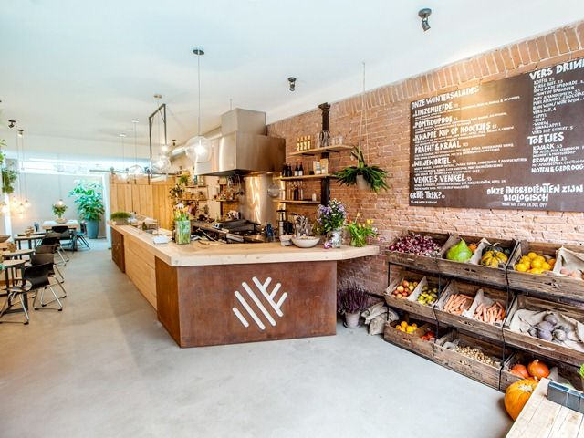 Venkel Amsterdam: a new salad bar at the Albert Cuypstraat!