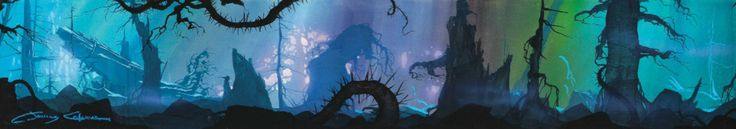 Visual Development from The Black Cauldron by James Coleman