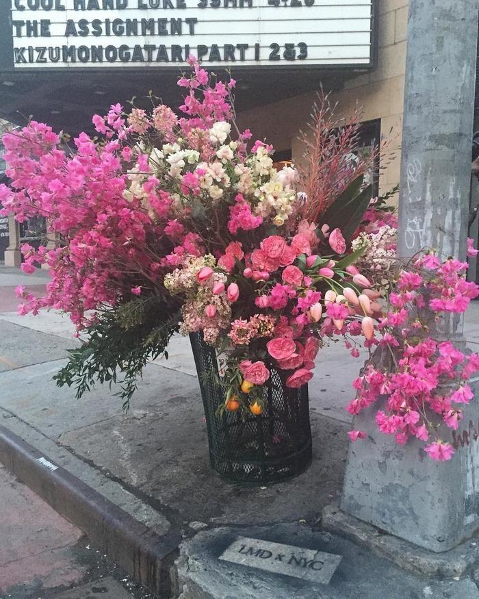 "Sztuka czy wandalizm?   Inspirowani Naturą   Lewis Miller , ""Flower Flashes"", street art"