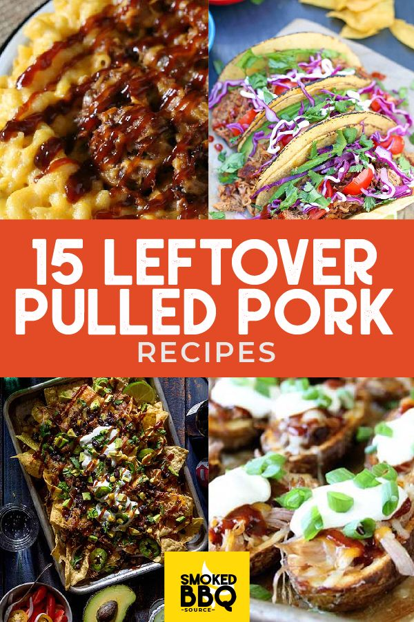 Put Your Leftover Pulled Pork To Good Use With These 15 Pulled Pork Recipe Ideas Pulled Pork Tac Pulled Pork Leftover Recipes Pulled Pork Recipes Pork Recipes