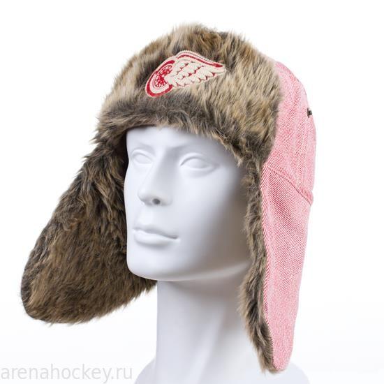 Хоккей одежда шапка зимняя с мехом с эмблемой нхл