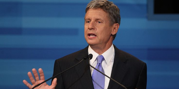 Former New Mexico Governor Gary Johnson Named Pot Company CEO