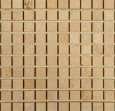 Travertine Mosaic and Travertine Mosaics are available in different finishes including: tumbled travertine, honed travertine, travertine tile, split face travertine, travertine mosaic