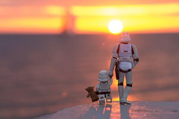 stormtrooper, son & teddy