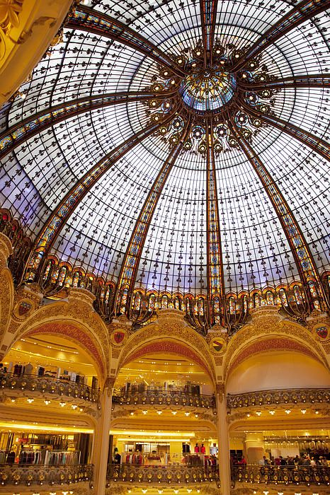 Galleries Lafayette - Paris