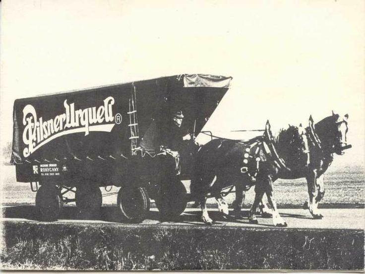1856, Pilsner Urquell dodává první várku piva do Vídně.