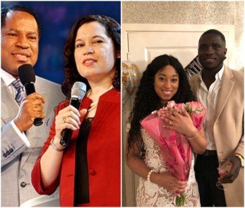 nice Pastor Chris Oyakhilome's daughter, Sharon is engaged (Photo)