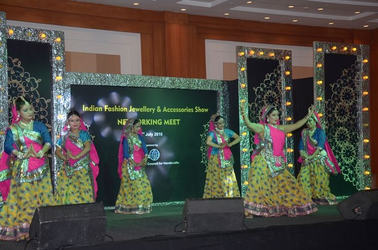 Indian Cultural Performances at The IFJAS, 2016 #ifjas #tradeshow — at India Expo Mart.