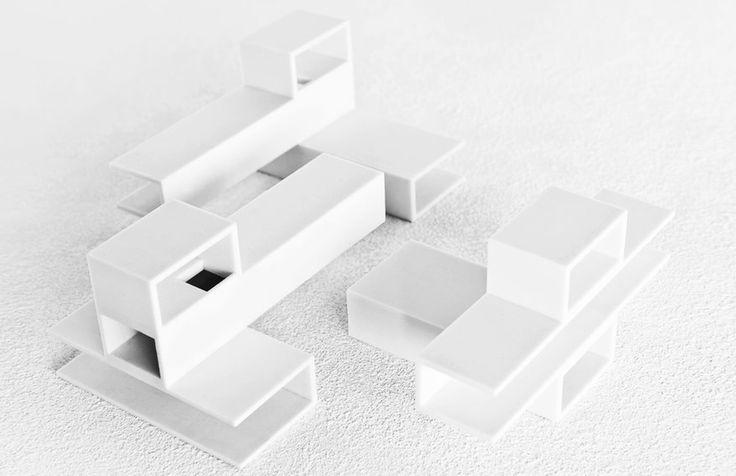 Tetris House by Janjaap Ruijssenaars