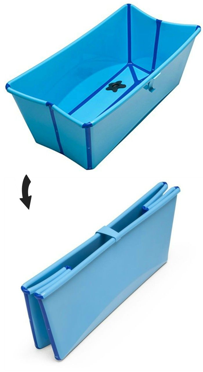 20 Clever Collapsible Designs That Save Valuable Space Diy Bathtub Small Tub Small Bathtub