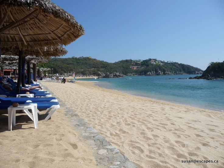 Barcelo Huatulco, with great sand beaches, and swimming