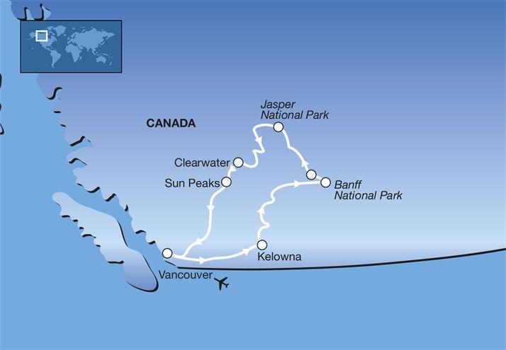 Ontwerp uw reis: 15-daagse privé rondreis Het Beste van West-Canada - Privéreis Canada   FOX.nl