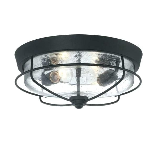 Ceiling Lights With Motion Sensor Industrial Flush Mount