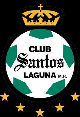 Club Santos Laguna of Mexico crest.