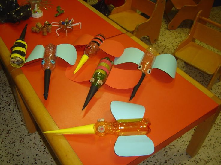 Attività Creative per Bambini: Riciclo bottiglie di plastica