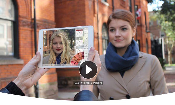 Modiface, société canadienne, vous propose des applications mobiles pour vous maquiller, coiffer... Les applications ModiFace disposent de la technologie la plus avancée au monde de relooking virtuel avec la reconnaissance faciale. Ces applications sont disponibles sur toutes les plateformes. Maquillage en R.A.
