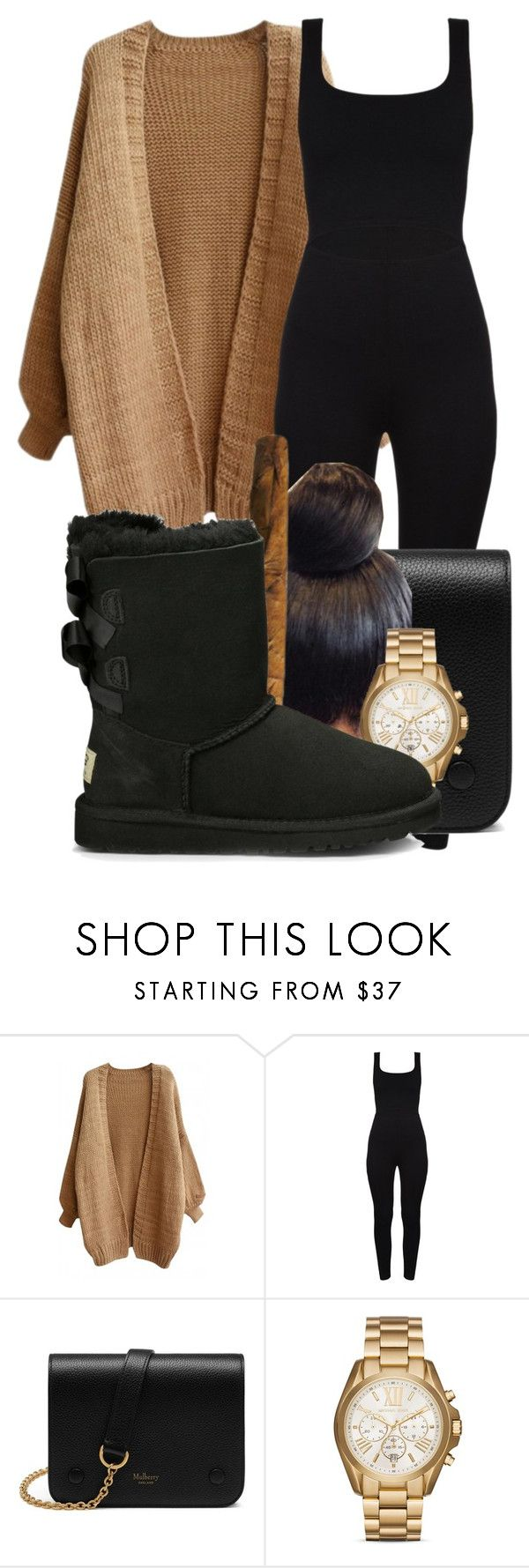 """okaaaaaaaay"" by gvlden-bvbx ❤ liked on Polyvore featuring Mulberry, Michael Kors and UGG Australia"