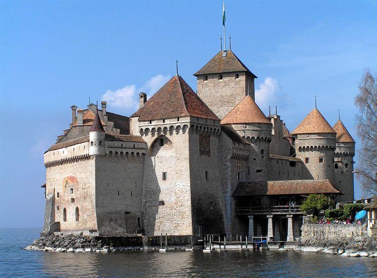 Chillon Castle tourism 2016 Switzerland