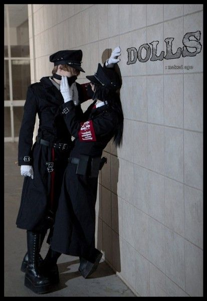 DOLLS The First Brigade by Naked Ape  Mikoshiba Shota Seiju Shikibu Cosplay
