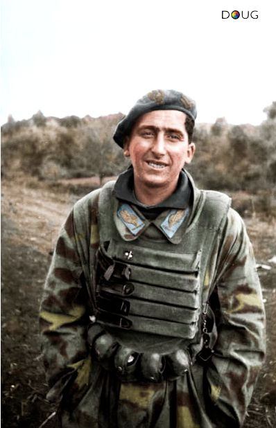 184th Division Parachutist 'Nembo' on the Anzio-Nettuno front (c. Jan/Feb '44)