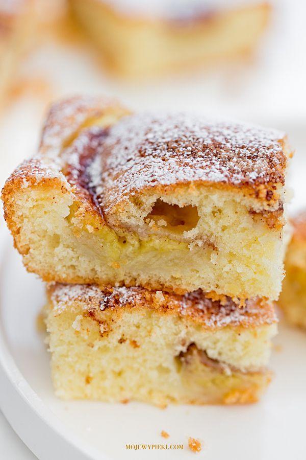 Ciasto z bananami i cynamonem