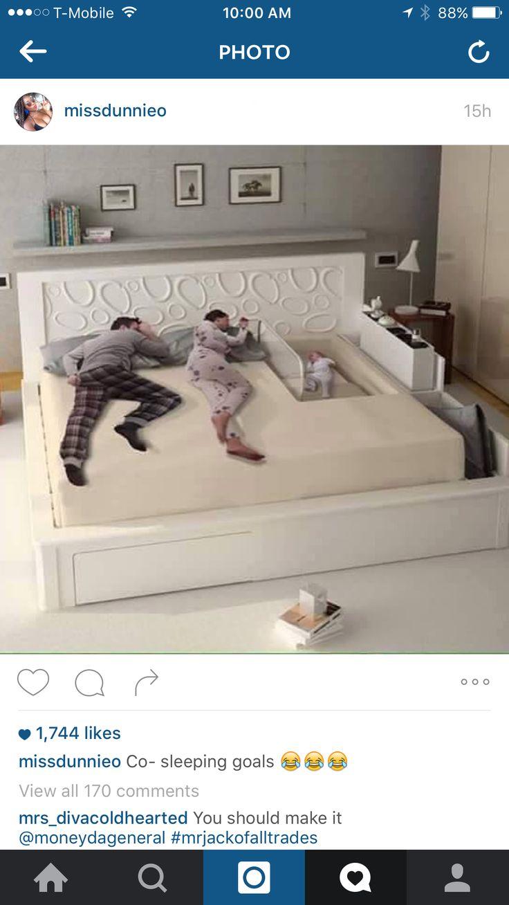 Co sleep bed