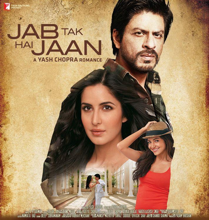 Release Date: 13 Nov 2012 Directed by: Yash Chopra Produced by: Yash Chopra & Aditya Chopra Cast: Shahrukh Khan, Katrina Kaif, Anushka Sharma