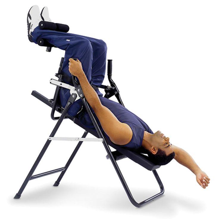 The Stress Minimizing Inversion Chair - Hammacher Schlemmer