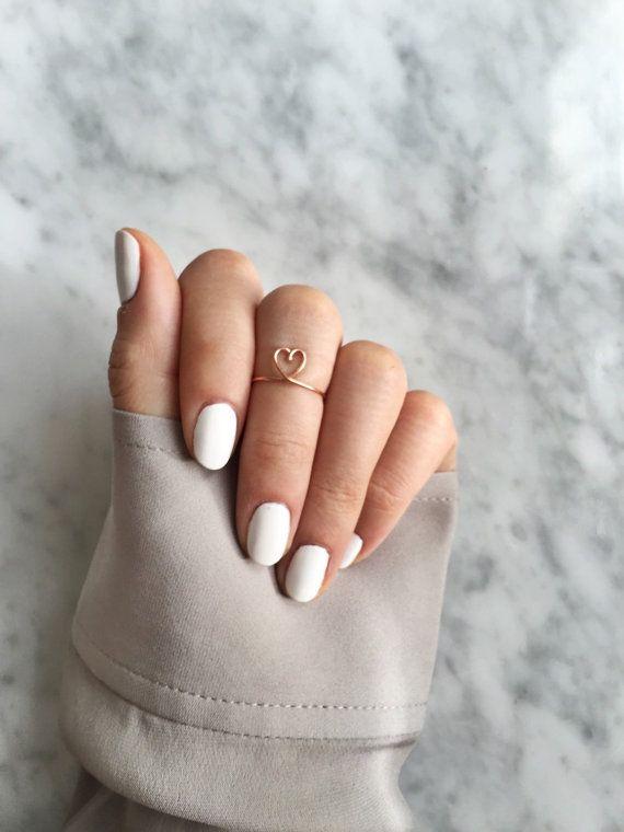 Best 25 Gold heart ring ideas on Pinterest