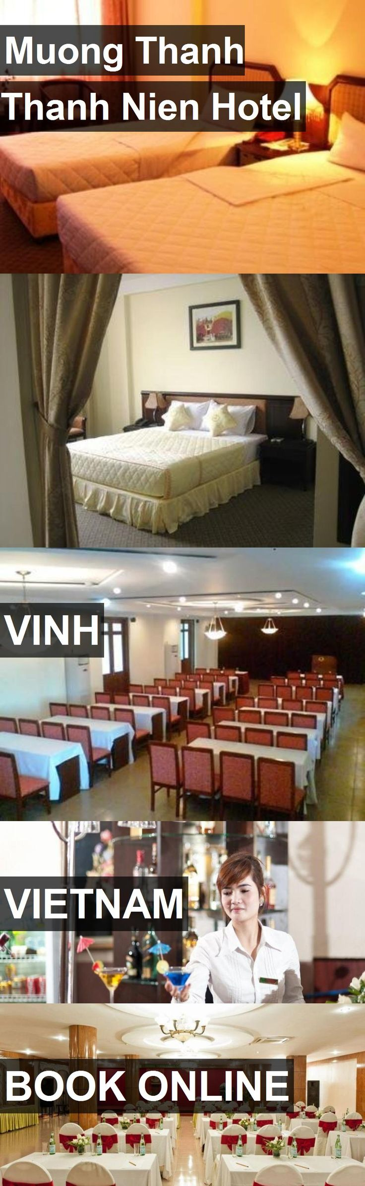 Muong Thanh Thanh Nien Hotel in Vinh, Vietnam. For more information, photos, reviews and best prices please follow the link. #Vietnam #Vinh #travel #vacation #hotel