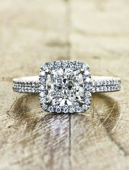 Princess cut is simply my favorite. It's perfect