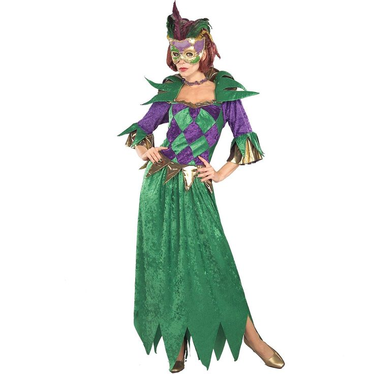 Mardi Gras Madness Adult Costume | BuyCostumes.com - maybe modify skirt by shortening it a little