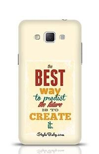 The Best Wat To Predict The Future Is To Create It Samsung Galaxy A5 Phone Case