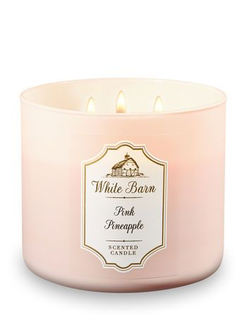 Pink Pineapple 3-Wick Candle - Bath And Body Works